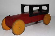 1930's Liberty? Wood and Tin Limousine Car, Nice Original