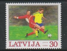 Latvia - 2004, Euro 2004 Football stamp - L/M - SG 619