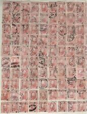Mexico,1872,Scott#95,25c,Full Reconstructed Sheet(Plate)