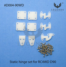 Static Door Hinge set (9pcs) for RC4WD Land Rover D90 Body