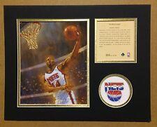 New Jersey Nets DERRICK COLEMAN 1994 NBA Basketball 11x14 Lithograph Print