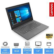 "Lenovo V330-14arr 14"" SSD Portátil AMD Ryzen 5 2500u Quad Core 8GB RAM 256gb"