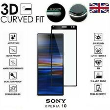 For Sony Xperia 10 Genuine Full 3D Tempered Glass 9H Screen Protector Cover