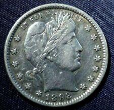 1892-P Barber Half Dollar 50¢- Xf Cl