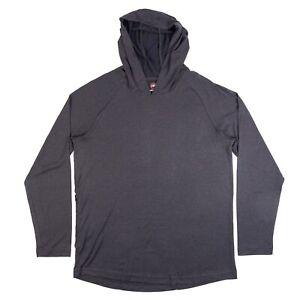 Travis Mathew Long Sleeve Lightweight Hooded Shirt Pullover Golf Hoodie Men's M