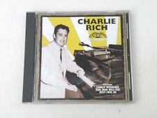 CHARLIE RICH - THE SUN SESSIONS- CD 1996 VARESE SARABANDE U.S.A. - EX++/NM