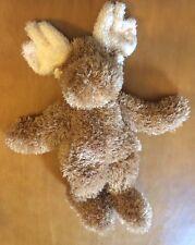"Boyd's Bears Moose Plush Rattle 13"""