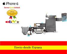 CONECTOR FLEX CARGA + MICROFONO + ANTENA PARA IPHONE 6 GRIS