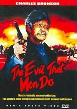 Evil That Men Do 0759731411622 With Charles Bronson DVD Region 1
