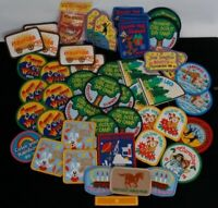 Vintage 90s 2000 Girl Scout Patches Badges