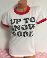 Victorias Secret Pink Up To Snow Good Tshirt Size XSmall Brand New