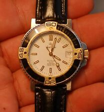 LUCIEN ROCHAT RO SUB diver's gold&steel ETA 2892-2 working condition,serviced