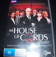 The House Of Cards Trilogy BBC DVD (R 4 Australia Region 4) DVD – New