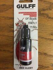 Gulff Resin Uv Fly Tying Resin Red Alert 15 ml