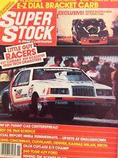 Super Stock Magazine 427 Camaro 454 Roadster November 1984 013118nonrh
