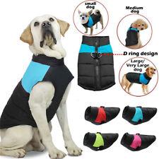Hund wasserdichte Kleidung Winter warme Haustierjacke Weste Mantel Bekleidung