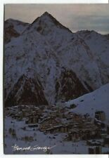 Old Postcard-Les Deux Alpes in the Dawn