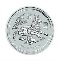 1 oz 999 Silber Silbermünze Lunar Hund Australien Perth Mint 2018 Privy Mark