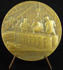 Médaille Jules Coutellier usine Delaunay-Belleville travailleurs de guerre medal