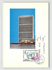 Spain MK 1970 UN UN ECE Maximum Card Carte Maximum Card MC cm d9459