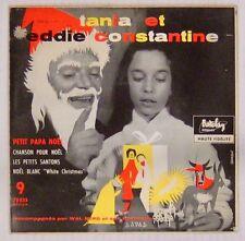 Eddie Constantine 45 tours Petit Papa Noël 1956