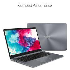 "ASUS Vivobook 15.6"" Laptop FHD AMD Quad Core 3.6GHz 128GB SSD 4GB RAM Win10 Gray"