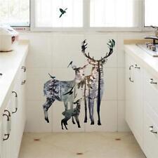 Removable Large Deer Wall Stickers Nursery Kids Bedroom Home DIY Decals HY