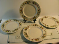 "Royal Doulton MIRAMONT TC 1022 Set of 4 Salad Plates 8"""