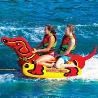 Heavy Duty Tube Water Tube Towable Pulling Boat Water Ski 2 Rider Boat Towable