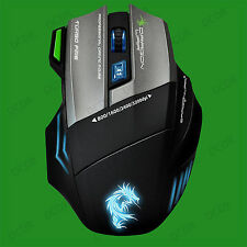 Thor G9 USB Gaming Laser Mouse With Mouse Mat, 3200dpi, 9 Programmable Buttons