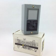 Square D 9001 BG-112 Pushbutton Station Hand Off Auto Selector Switch