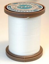 Amy Roke - Premium Waxed Polyester Thread P65 (0.65mm) White (1)