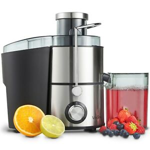 VonShef Juicer Machine Fruit Veg & Citrus Centrifugal Electric Extractor 400W