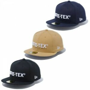 NEW ERA Outdoor 59FIFTY Fitted Cap GORE-TEX Logo Metal Badge Japan with Tracing