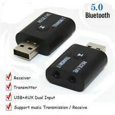 NEW USB Bluetooth Receiver Audio Transmitter Adapter For TV PC Headphone Speaker