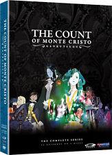 Gankutsuou . The Count Of Monte Cristo . Complete Series .. Anime .. 4 DVD . NEU