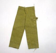 Action Joe Man Hasbro accessoire ancien pantalon tissu vert clair une poche 022
