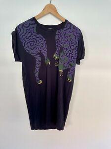 Stella McCartney Panther Print Organic Cotton T-Shirt EU 38 (RRP $350)
