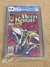 Moon Knight 12 CGC 9.0 White Pages (Classic Cover!!) CGC #012