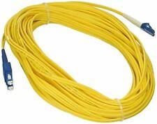 eDragon Fiber Optic Cable, LC/SC, Singlemode, Duplex, 9/125, 15 meter (49.2 foot