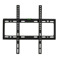 "26""-55""Black Lcd Wall Mount Bracket TV Mount With Sprit Bubble TV-Stand"