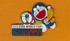 Very rare TV Asahi Media Pin – 2002 FIFA World Cup Japan / Korea - Doraemon