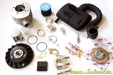 VESPA Tuning-Kit PX 200 - Stufe 2 - MALOSSI 210 cm³ SIP Road HP4 Polini PX200