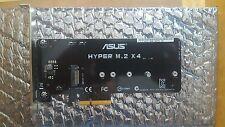 ASUS HYPER m.2 PCIe x4 Adattatore schede (Socket 3) REV 1.0