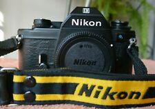 COLLECTOR's GRADE Nikon EM Black BODY film camera