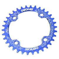 104 BCD MTB Round Oval Narrow Wide Chainring 32/34/36/38T Bike Chainwheel Parts