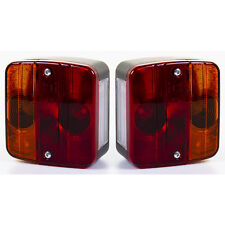 LARGE 2 x COMMERCIAL Trailer Light Board Replacement End Caps