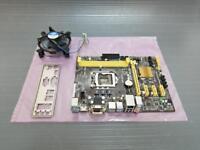 Asus H81M-PLUS Micro ATX Motherboard LGA 1150 USB 3.0 w/ I/O Shield Heatsink Fan