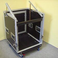 10/10HE L-Rack Winkelrack Kombicase Spezial-Kombi-Case Profi, 10 HE, rollbar NEU