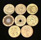 LOT OF EIGHT COMMEMORATIVE COINS OF POLAND - POLISH ZLOTY & CHRISTMAS (MINT)